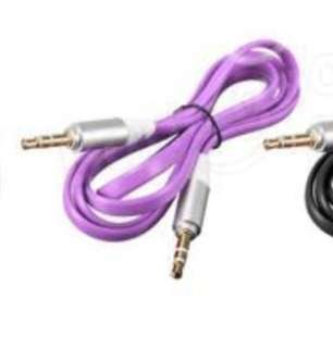 3.5MM 3 Pole Jack Aux Auxiliary Car Stereo Audio Cable