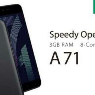 Oppo A71 Ram 3/32