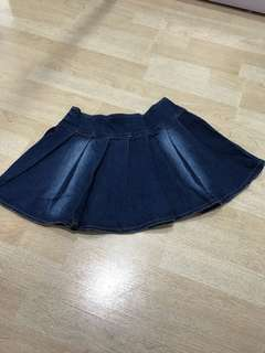 *FREE* Jeans Flare Skirt