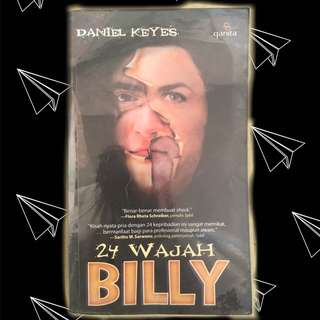24 Wajah Billy buku