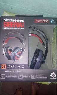 AUTHENTIC Stell Series Siberia Dota 2 HEADSET Special Edition