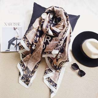 🔥Clearance🔥Authentic High Quality Silk Scarf Travel Holiday Shawl