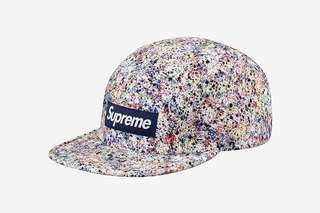 Supreme x Liberty Splatter Camp Cap