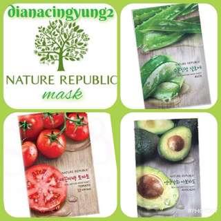 Nature Republic Mask Masker Korea