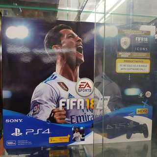 Ps4 slim 500gb Fifa 18 edition