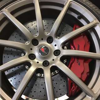 Used Genuine McLaren 12C/650S Carbon Ceramic Brakes (CCB) Full Set