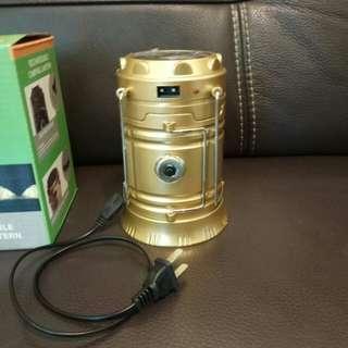 5800T多功能LED太陽能伸縮露營燈/探照燈/手電筒  提掛 手電筒 露營燈 手提 工作燈 照明