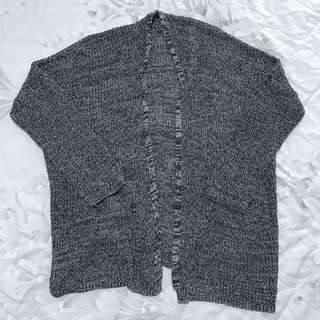 INSTOCK Grey knitted outerwear