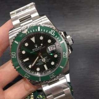 全新Rolex 116610LV 綠水鬼