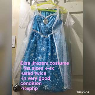 ELSA LIGHTS UP AND SING COSTUME