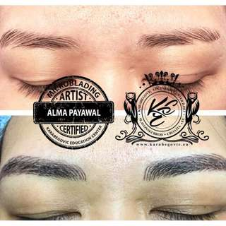 Eyebrow Embroidery Semi Permanent Make-up