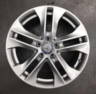 """Used 17"""" Original Mercedes Rims"""