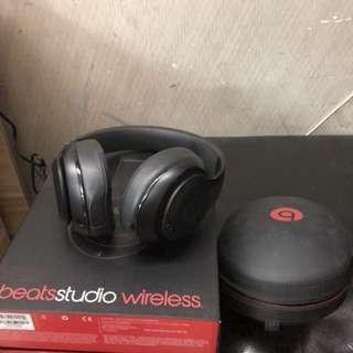beats studio藍芽耳筒