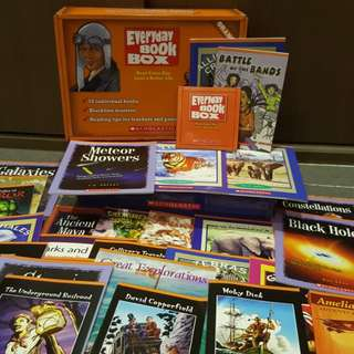Scholastic Everyday Book Box (Orange Box)