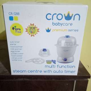 Multi function steam centre with auto timer