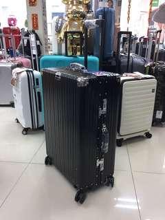 阿豪 英國品牌 DUNLOP 𣄃艦級 鋁鎂合金 包角 行李箱