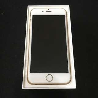 RUSH iPhone 6 32gb Gold Globe Locked