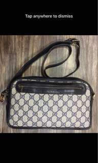 AUTHENTIC Gucci Vintage Monogram Crossbody
