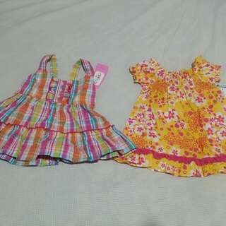 2 Summer Baby Dresses