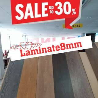 Laminate8mm-- Clearance Sale !!