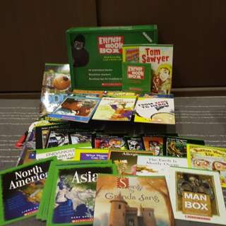 Scholastic Everyday Book Box (Green Box)