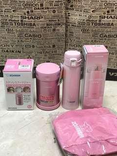 Bundle deal: excellent zojirushi food jar 500ml and 480ml Mug (cold and hot)