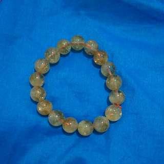gelang batu tiger eye kuning asli China