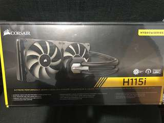 Corsair H115I extreme performance 280mm liquid cpu cooler