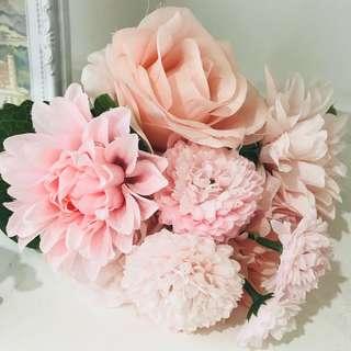 Artificial Flower Bouquet/ wedding deco