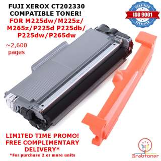 Fuji Xerox CT202330 Compatible Black Toner for M225dw M225z M265z P225d P225db P265dw