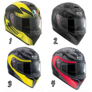 (FREE DELIVERY ISLANDWIDE) AGV K3 SV