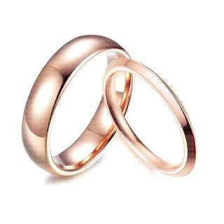 2MM THIN✨SCPR-119 • ROSE GOLD Skinnies Wedding Love Band Rings• FIXED SIZE