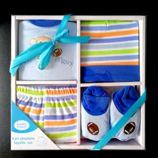 BN Luvable Friends Baby Gift Set - Age 0 to 3 months