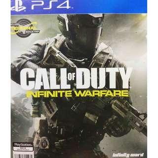 Used Playstation 4 PS4 Call of Duty Infinite Warfare Region 3 (NEAREST MRT)