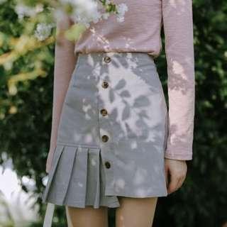 (PO) Vintage Irregular A-line Skirt