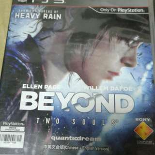 Beyond two souls Ps3 games