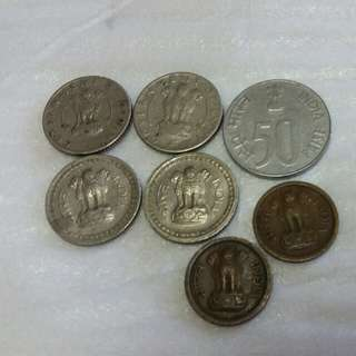 Lot Of Indian Old Coin.