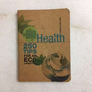 The little green book of health