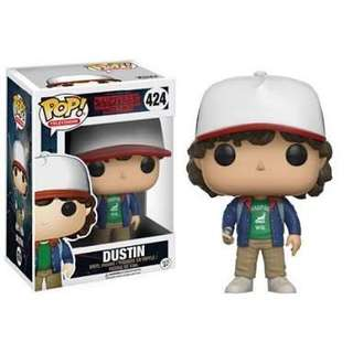 Stranger Things Dustin Funko Pop