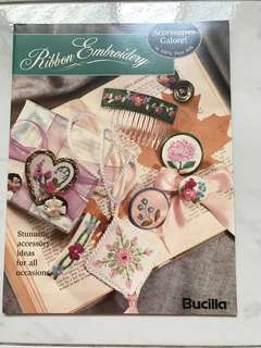 Vintage Ribbon Embroidery Book