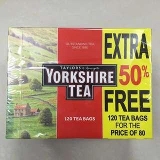 英國 茶包 Yorkshire Tea (兩盒包郵)