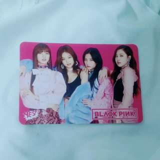 BLACKPINKYes card