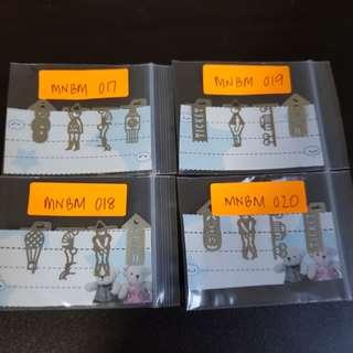 Mini Bookmarks