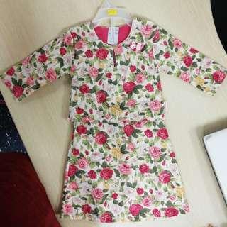 Baju Kurung Cotton romper