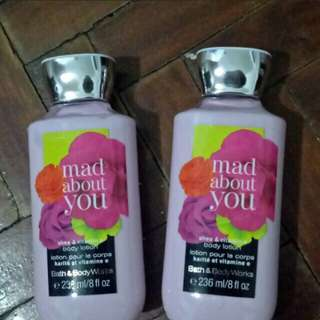 Mad about you bath and body works