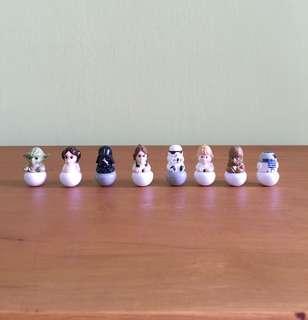 🌻 Star Wars Rollinz (8 Figurines in a Set)