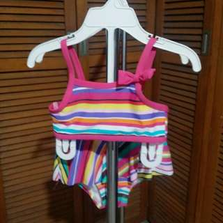 Sexy 2pc Colorful Bathing Suit