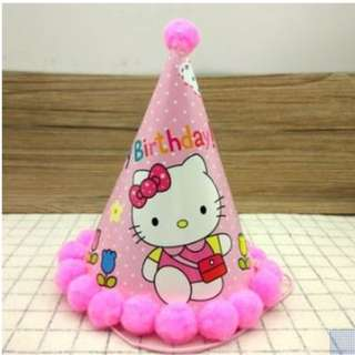 Party Decorations - Party Hats (Comes in packs of 8)