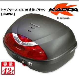 Brand new Kappa 42l box with Base plate