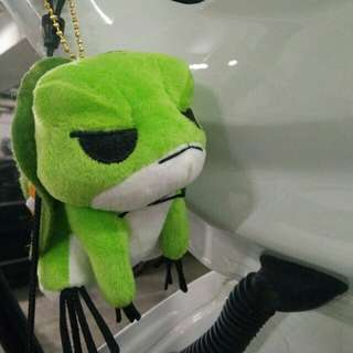 旅行青蛙公仔 8cm